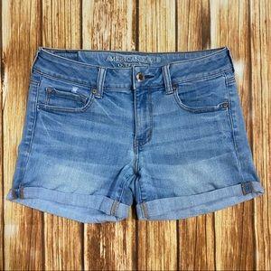 👖American Eagle Super Super Stretch Jean Shorts